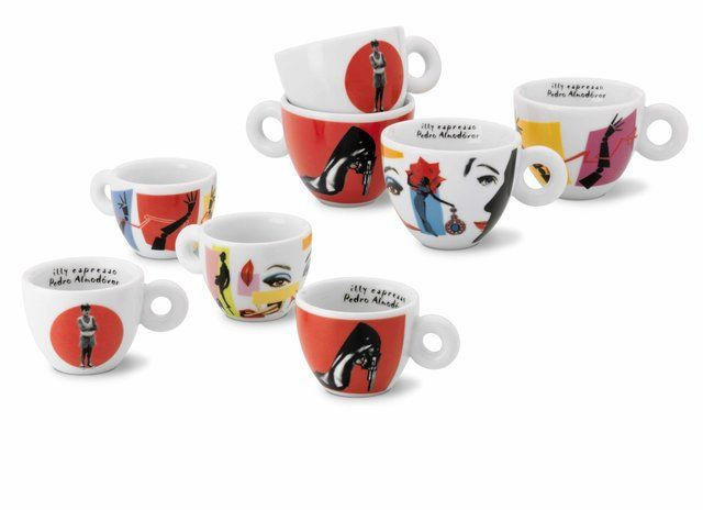 Almodóvar by Illy art collection | Mugs, Coffee mugs