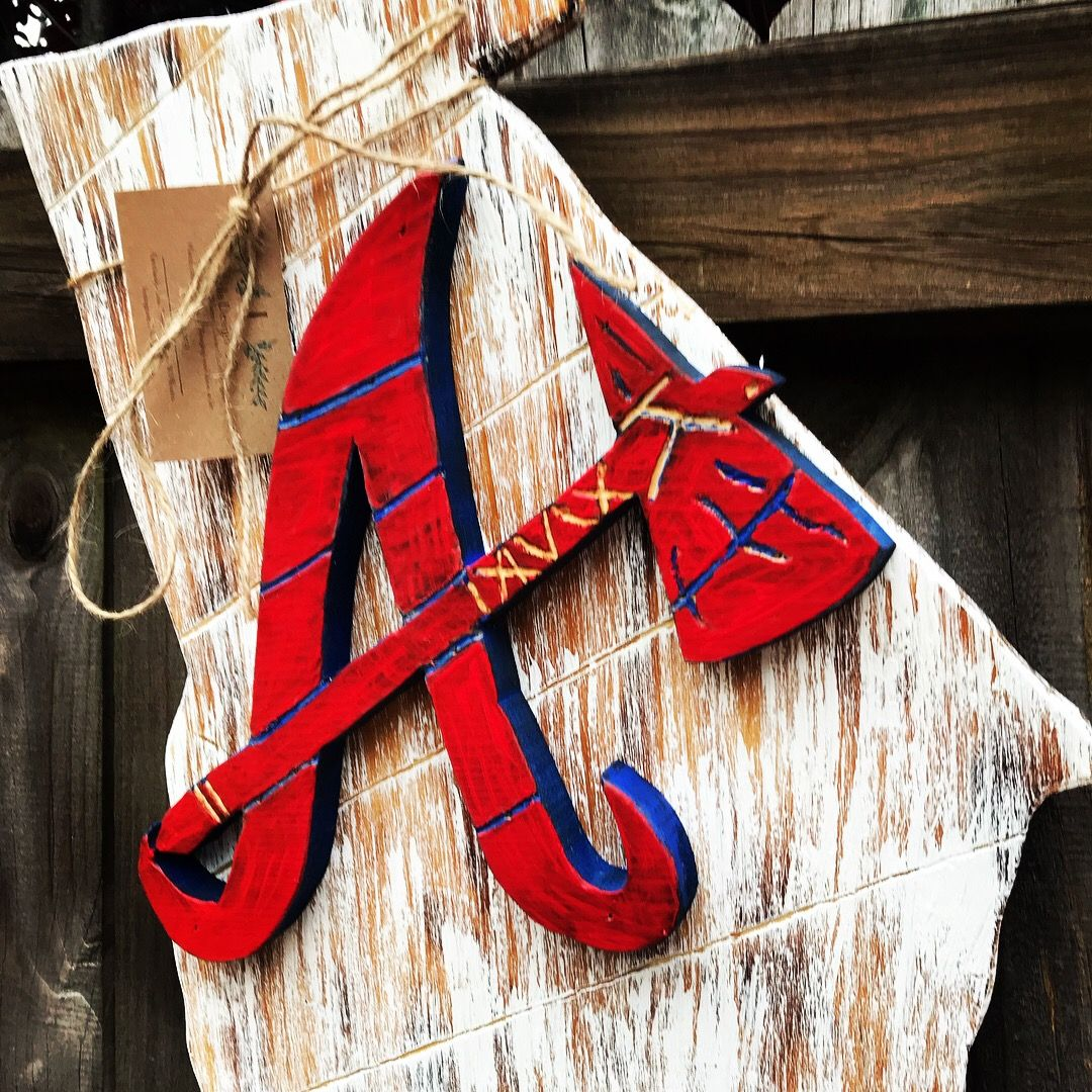 Atlanta Braves Handmade Wall Art Handmade Wall Art Atlanta Braves Braves