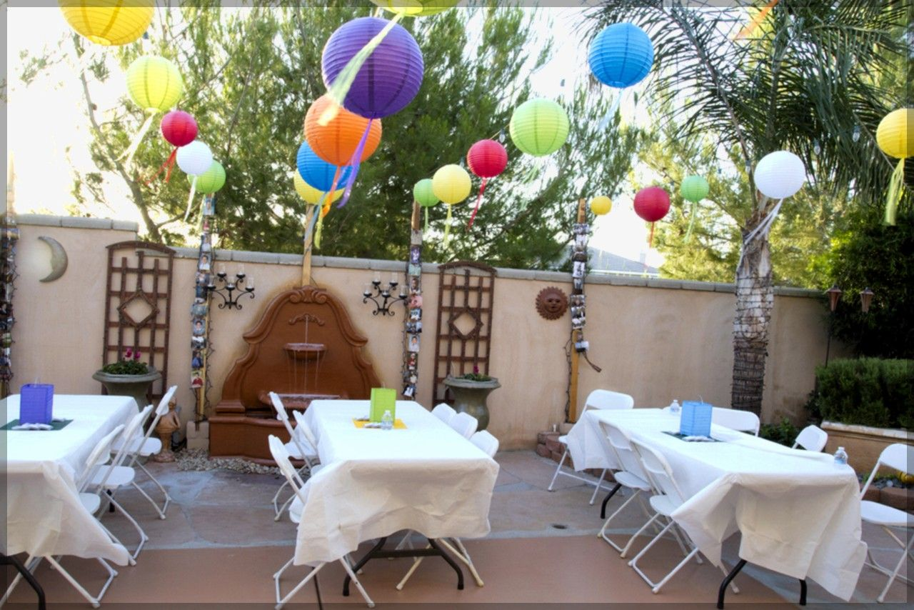 Awesome Paper Lanterns For A Graduation Party