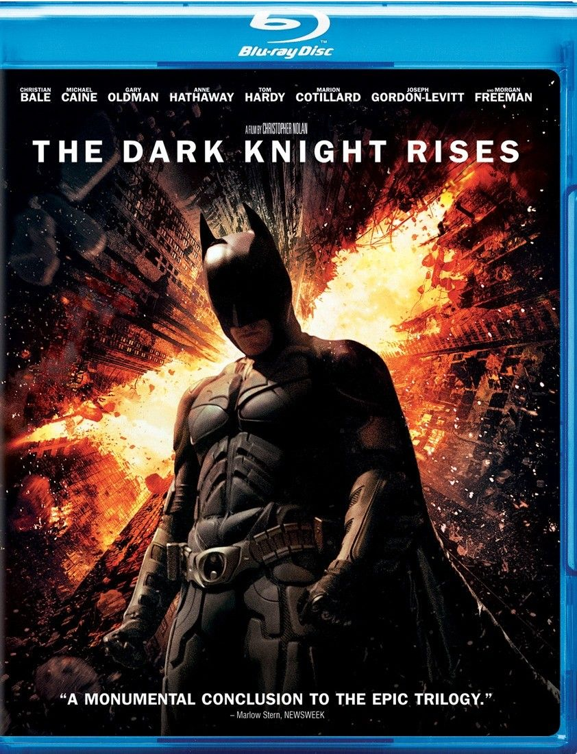 The Dark Knight Rises Blu Ray The Legend Ends Witness It As It