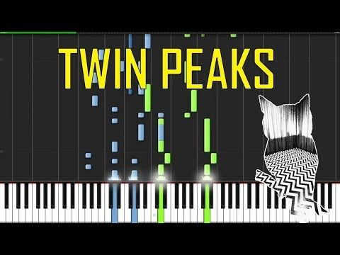 Twin Peaks Theme Piano Tutorial Chords How To Play Cover