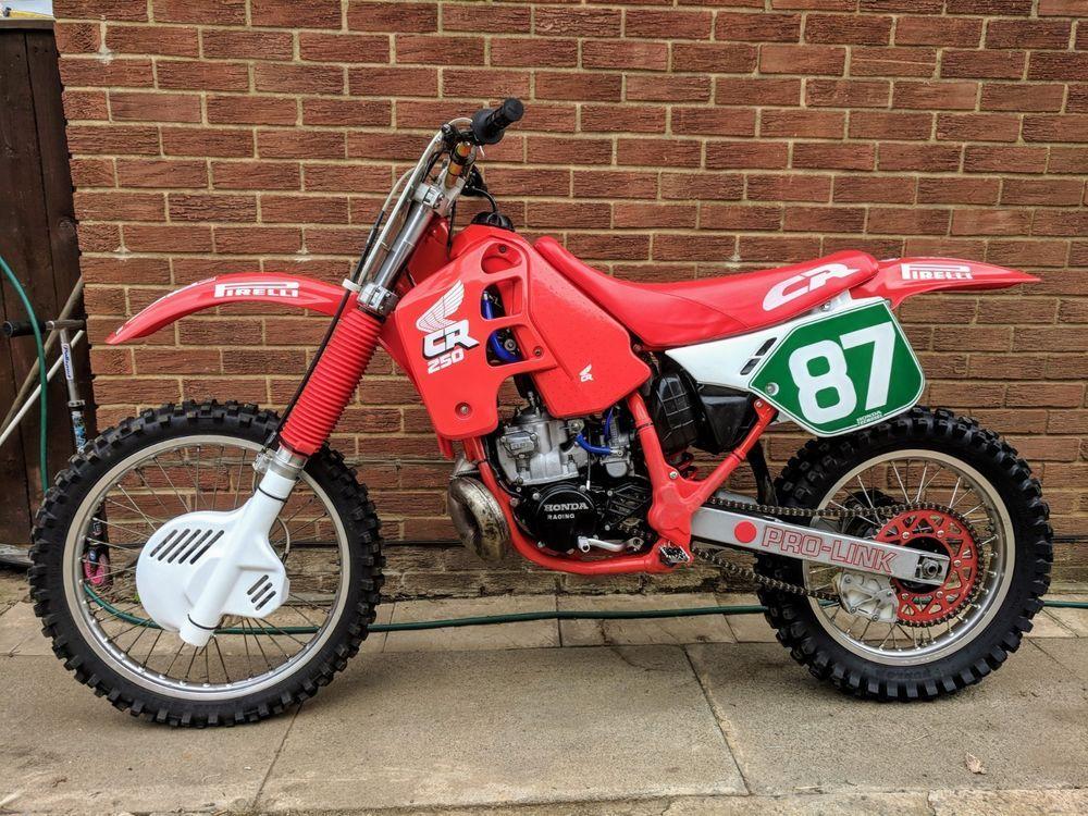 eBay: Honda cr250 1988 | 1988 CR 250 R | Honda, Cars motorcycles