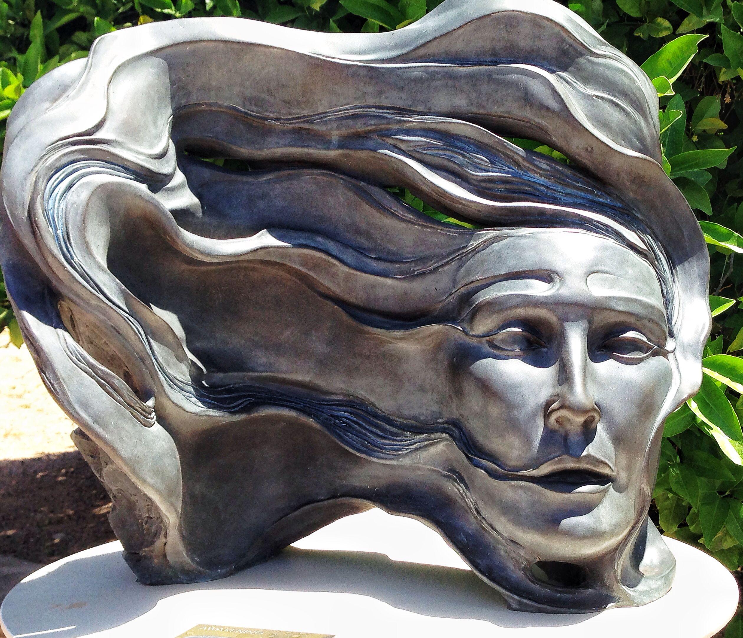 Sculpture at Taliesin West Sculpture, Lion sculpture, Art