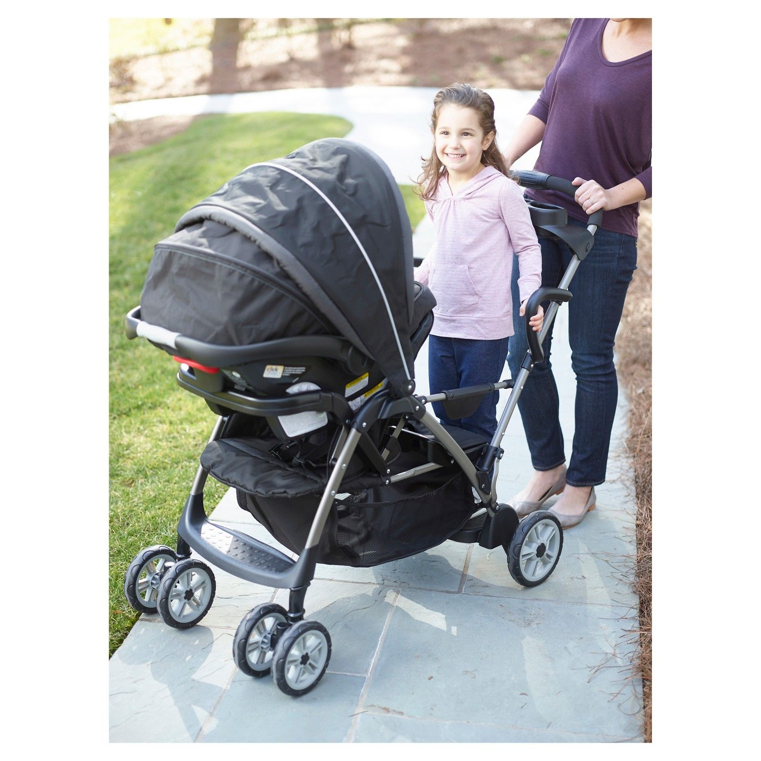 Double Pram Target Stroll With Ease With Your Two Little Ones Your Older One