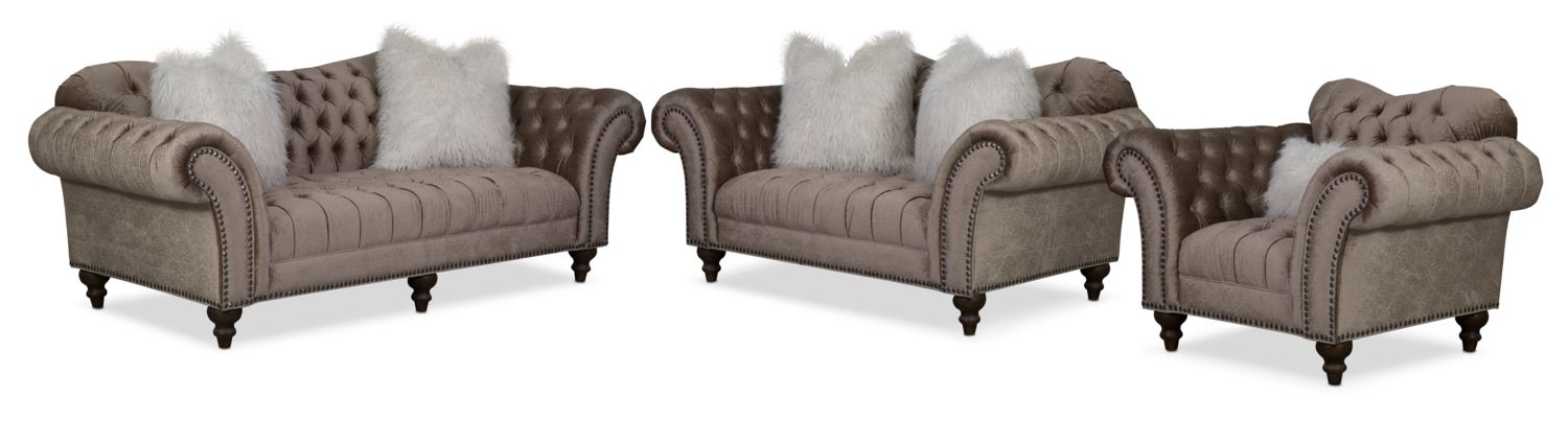 Best Living Room Furniture Brittney Sofa Loveseat And Chair 640 x 480