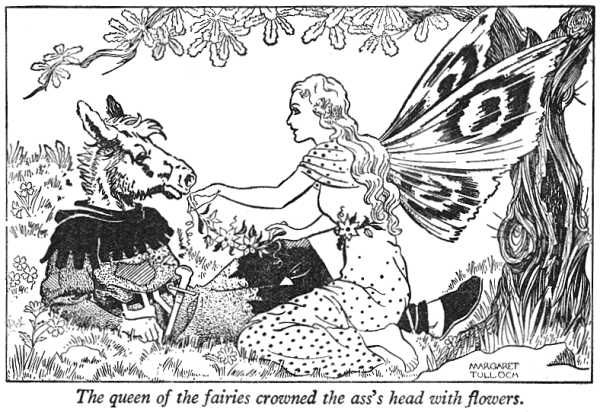 Shakespeare Coloring Pages Midsummer Nights Dream Illustration