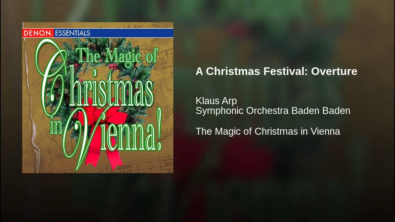 A Christmas Festival: Overture
