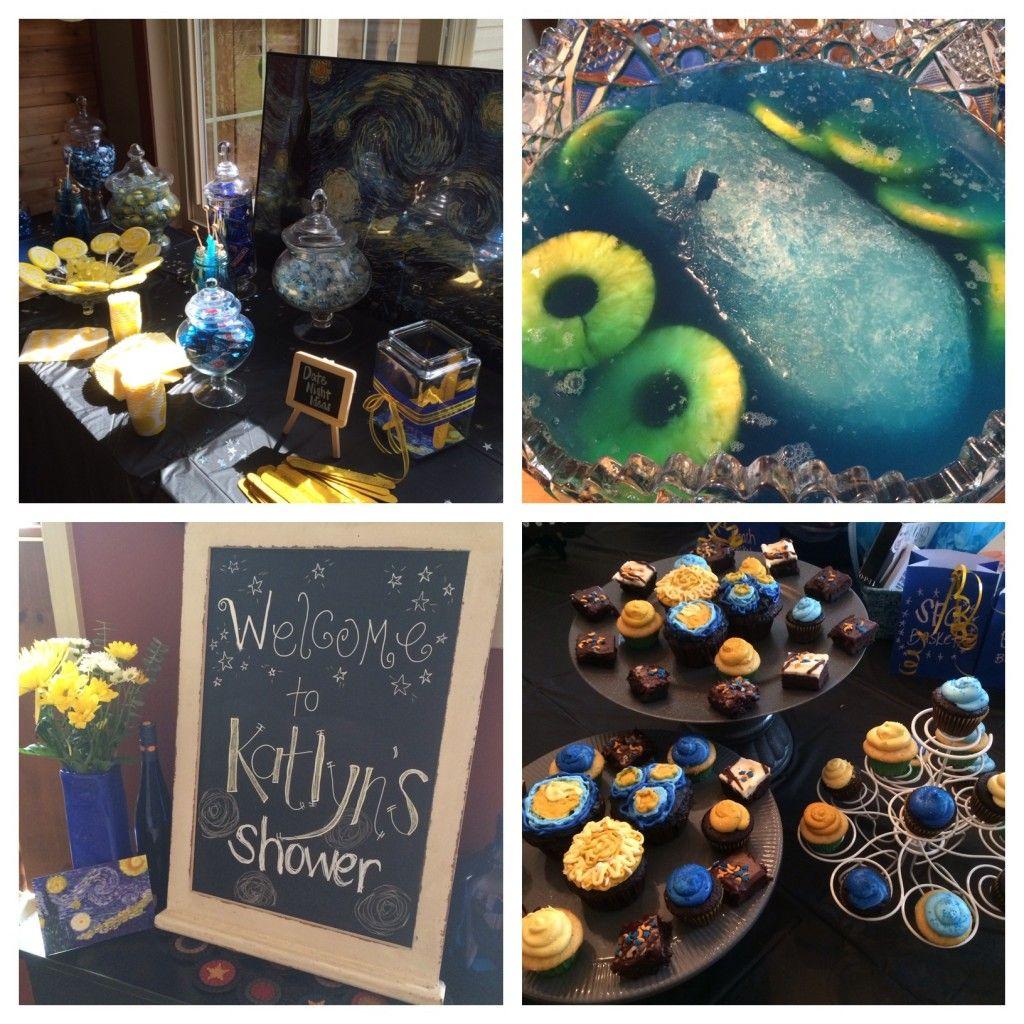 Star Night Wedding Theme: Van Gogh Starry Night Bridal Shower Theme @Meg