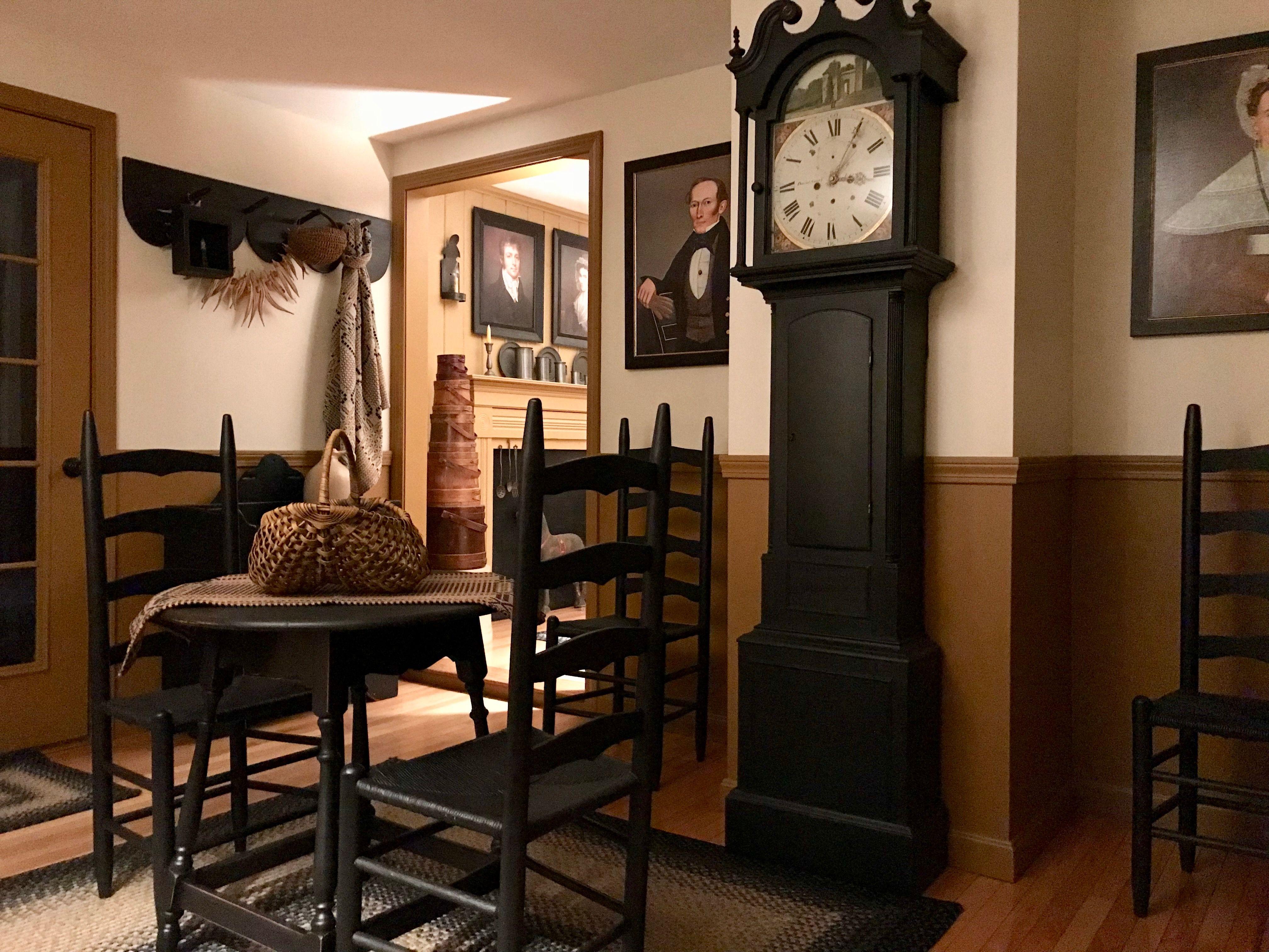 Early American Decor Primitive Living Room Country Decor Decor