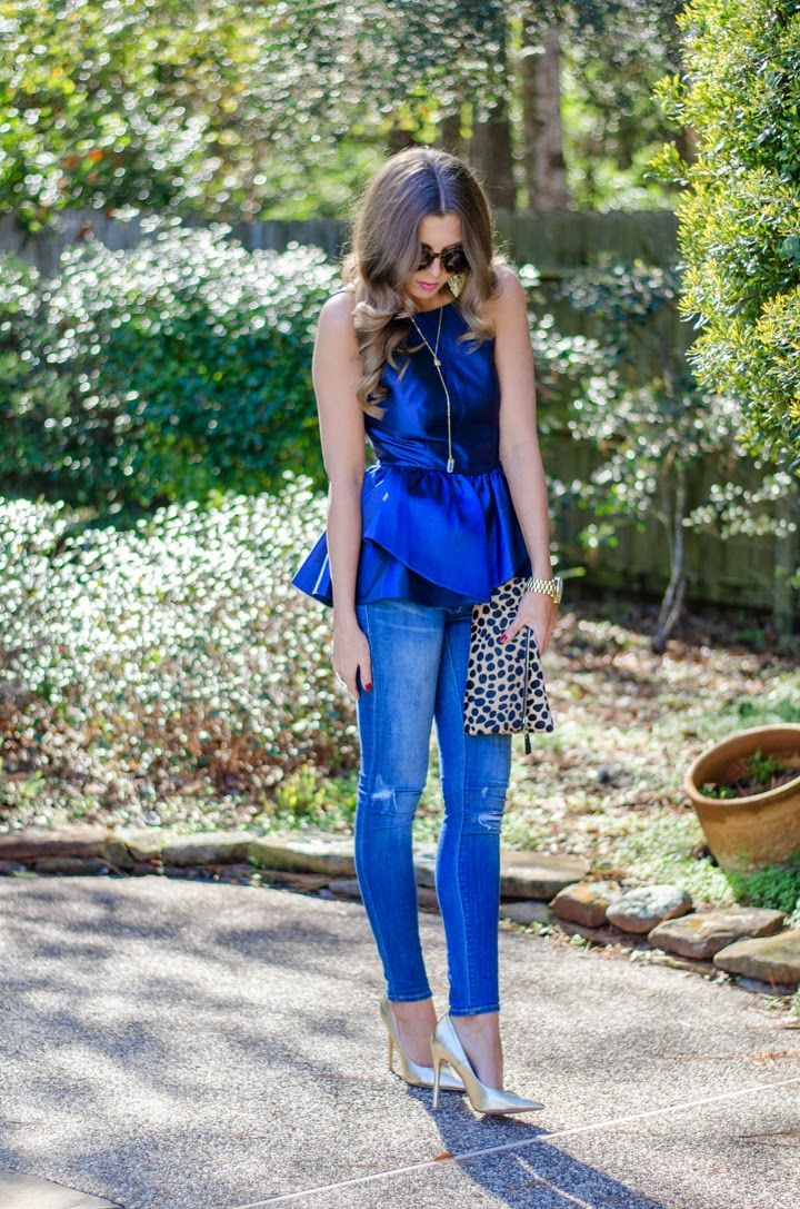 Ruffle Peplum | For the Love of Fancy blog