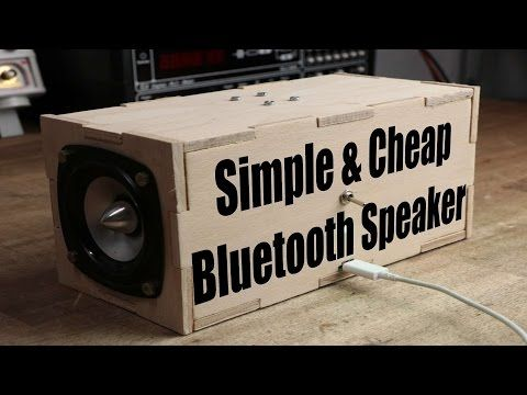 Make Your Own Simple & Cheap Portable Bluetooth Speaker ...