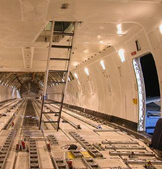 Boeing 747 200f Freighter Interior Aircraft Design Airfreight