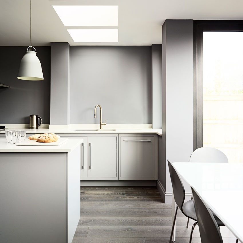 Use Shades Of Off White And Subtle Greys To Prevent Modern Kitchens From Looking Too Clinical It S The Perfect Way Add Depth Says Matthew Payne