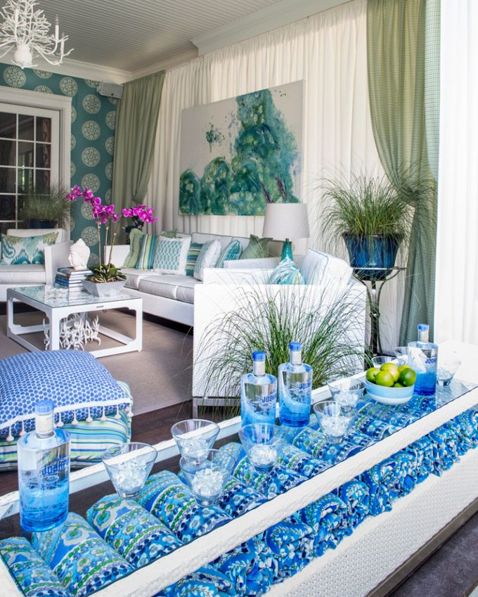 House of Turquoise: Kim E. Courtney Interiors & Design
