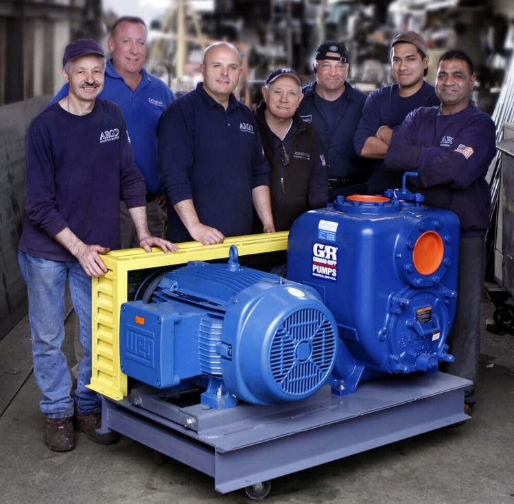 Lincoln Tunnel Commercial Booster Pump Systems Gorman Rupp Pump Water Pump System Water Pumps Pumps