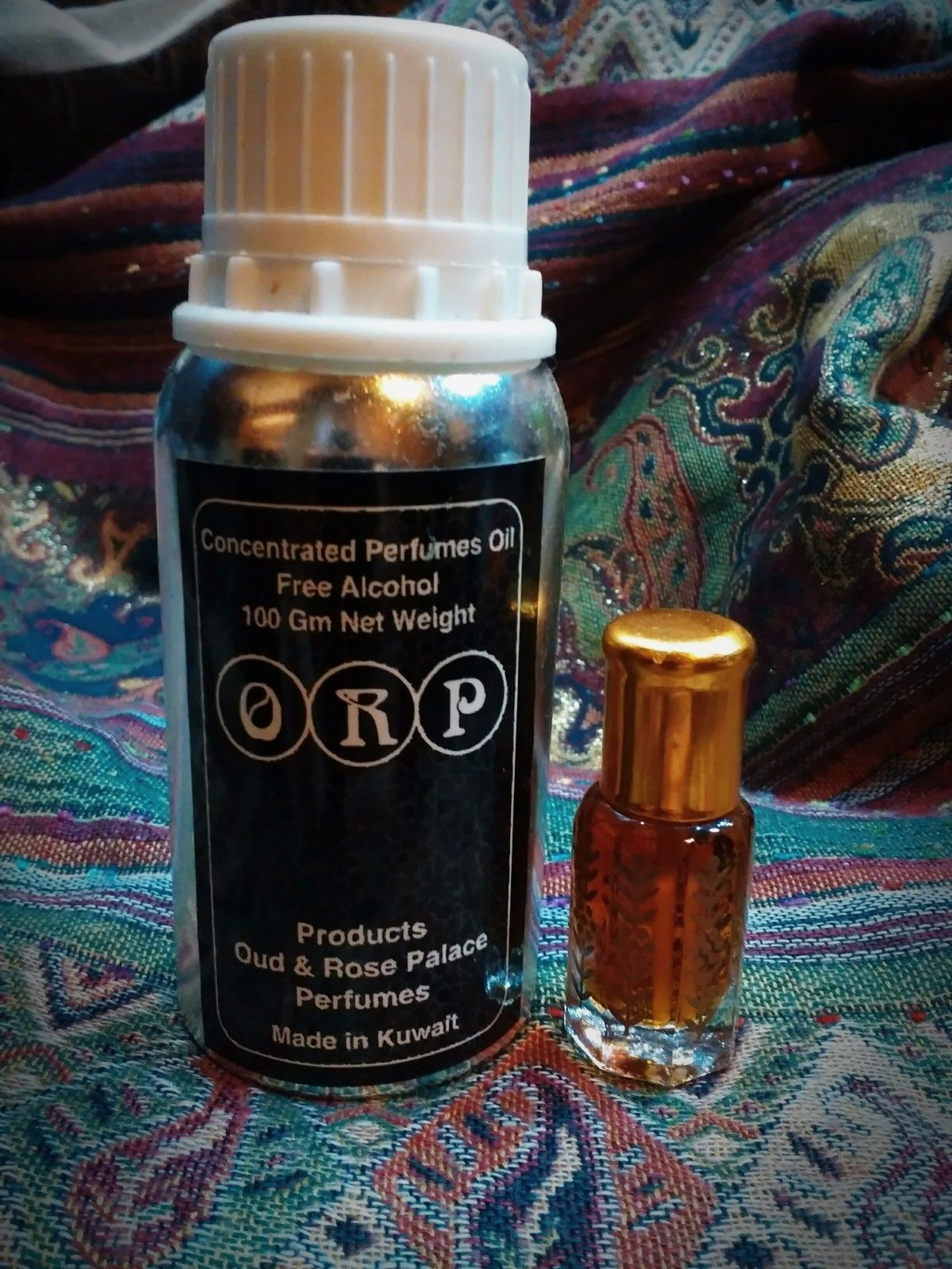 6 Ml Half Tola Oud Asfahan Rose Palace Oriental Perfume Master Spray Cologne Black Musk