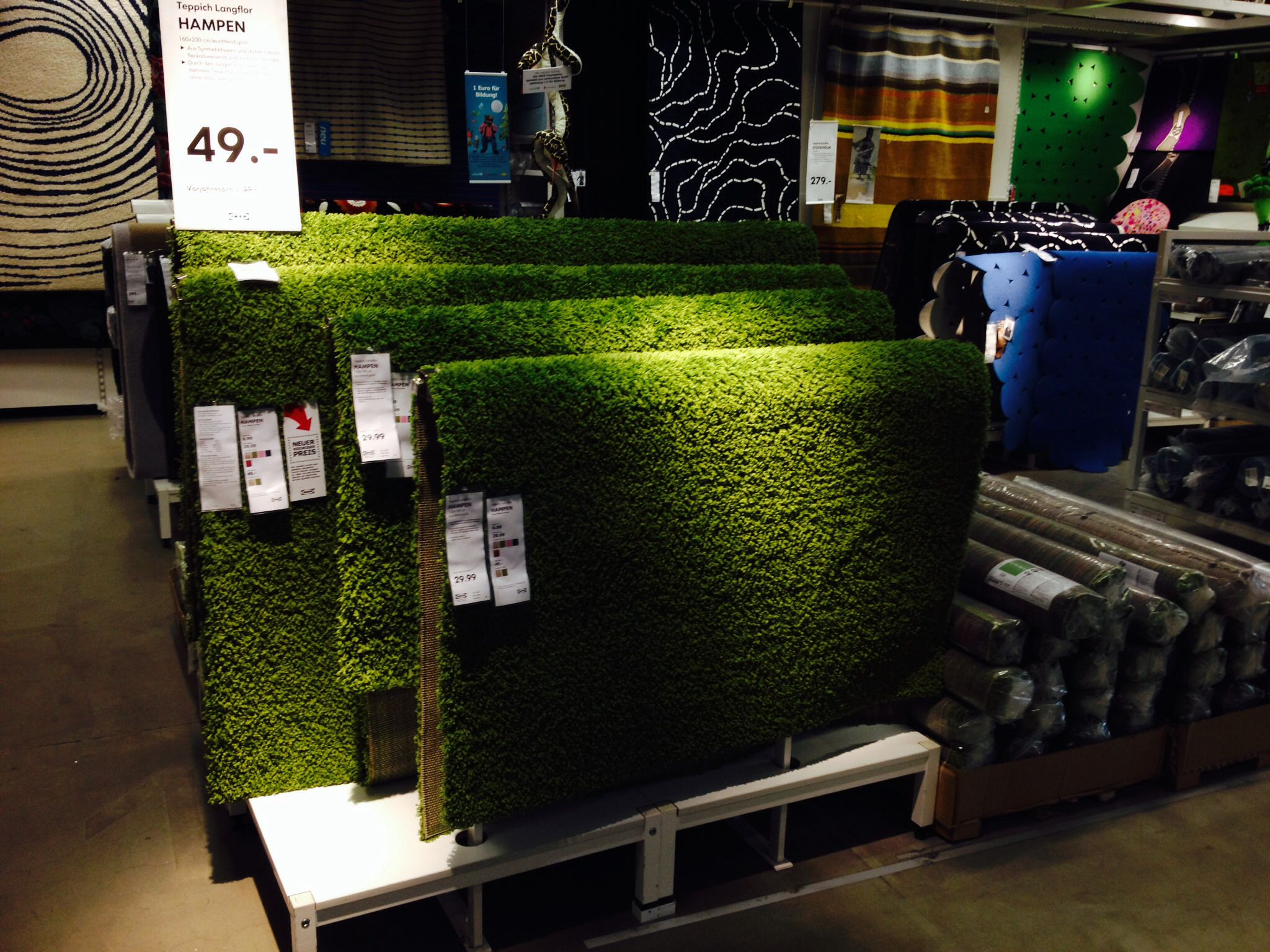 Grass carpet ikea indoor playground fun fittings for Ikea grass rug