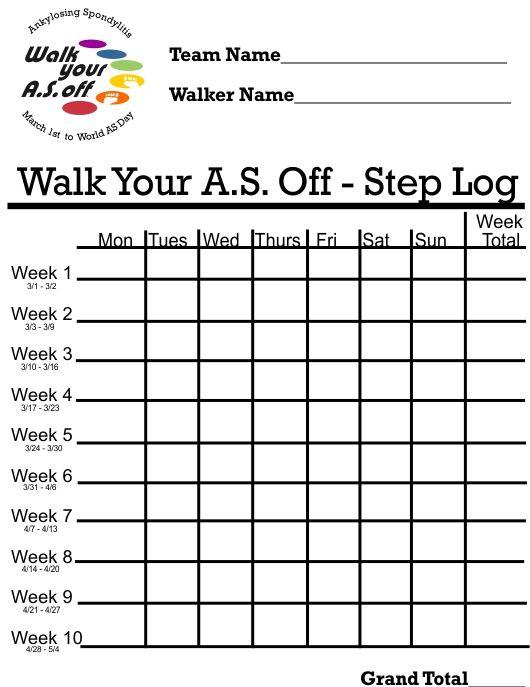 Printable Weight Loss Chart template Pinterest Weight loss