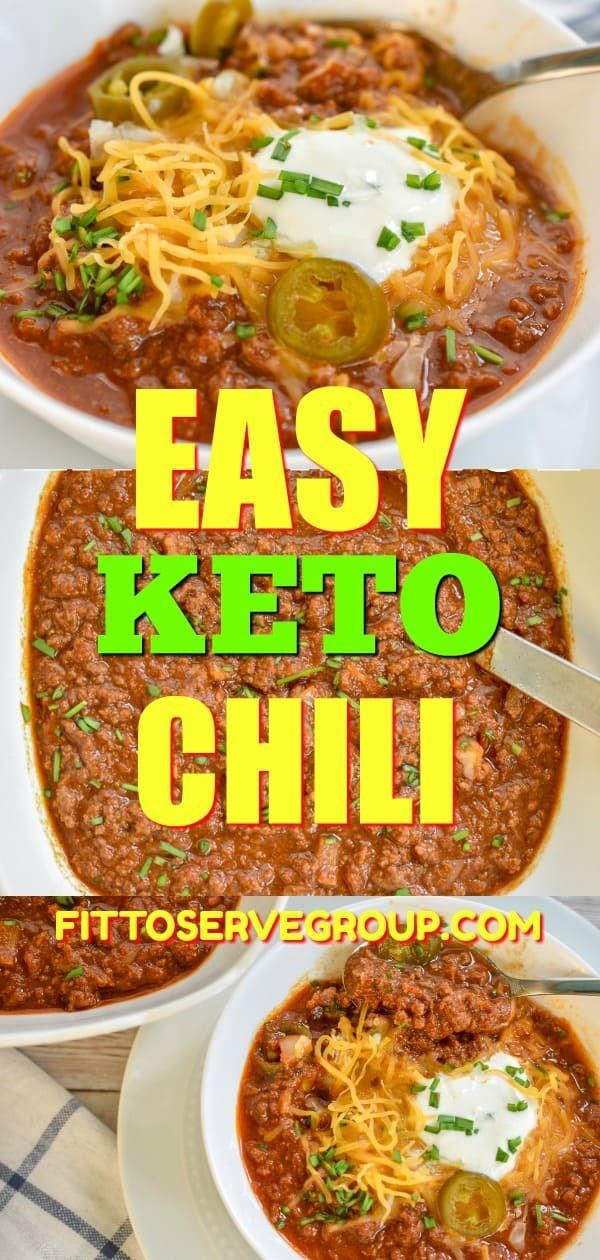 Photo of Einfaches Keto Chili