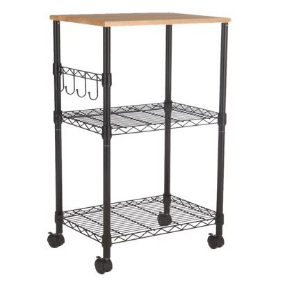 Microwave Cart Black Room Essentials With Images