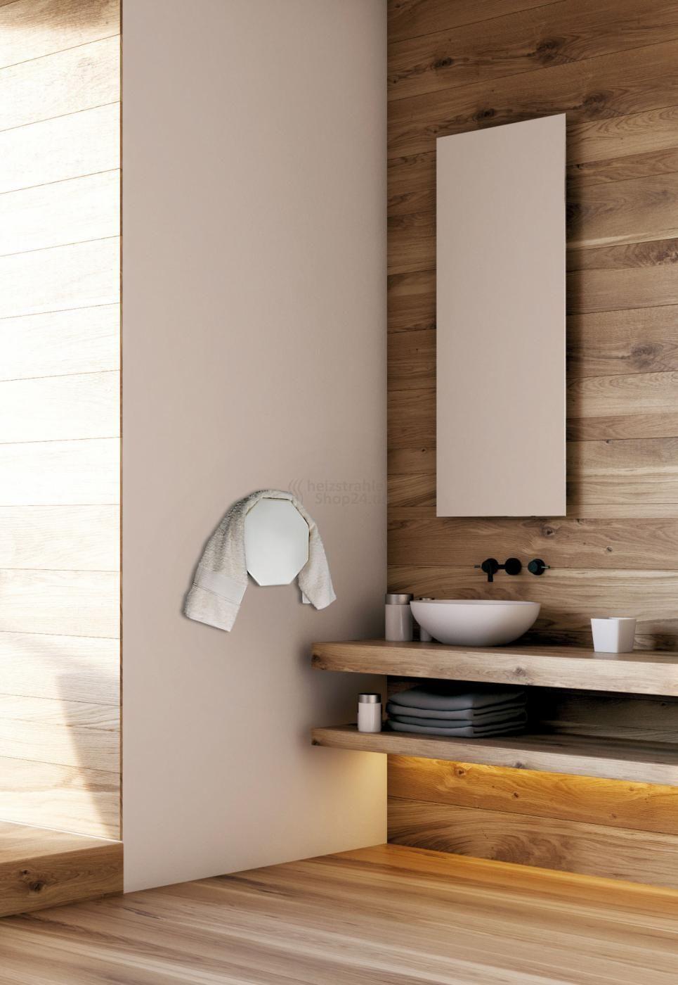 Aussergewohnlicher Handtuchwarmer Mit Infrarottechnologie Handtuchwarmer Infrarotheizung Heizstrahler