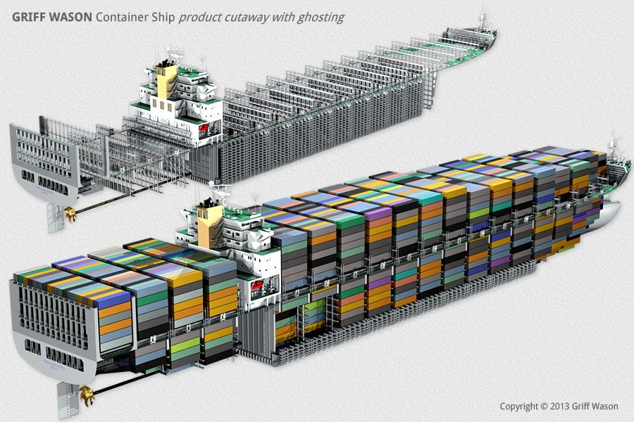 griff wason : container ship