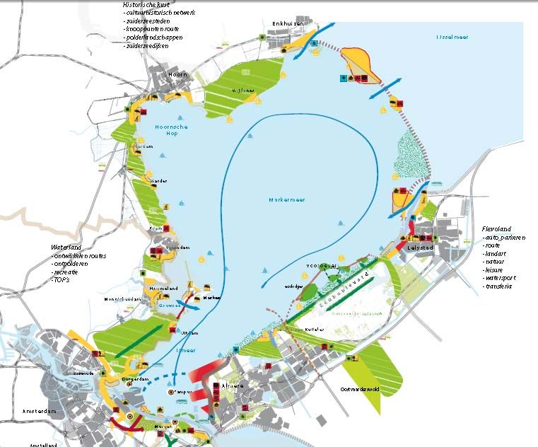 Transveria markermeer - foto toekomstbeeld Rijkswaterstaat