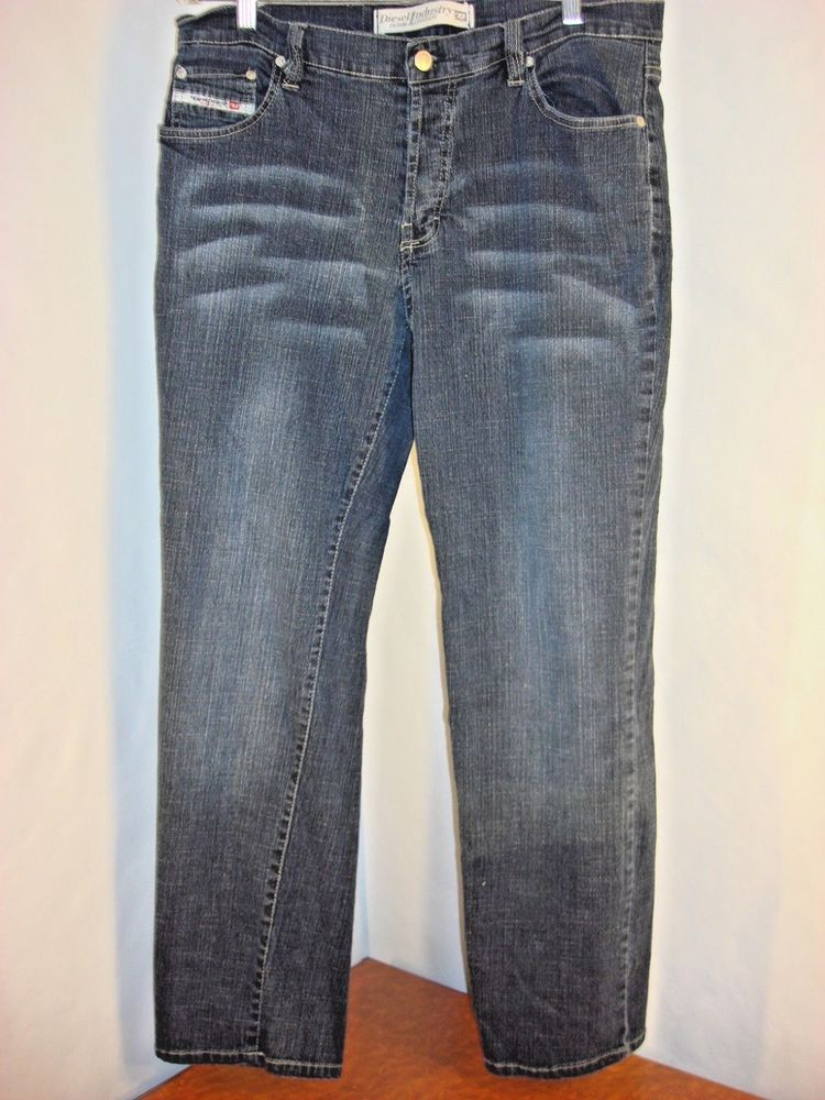 79dcae47 Diesel Industry Made in Italy TYPE RR55 Button Fly Jean Size 36 x 31 #DIESEL  #ClassicStraightLeg