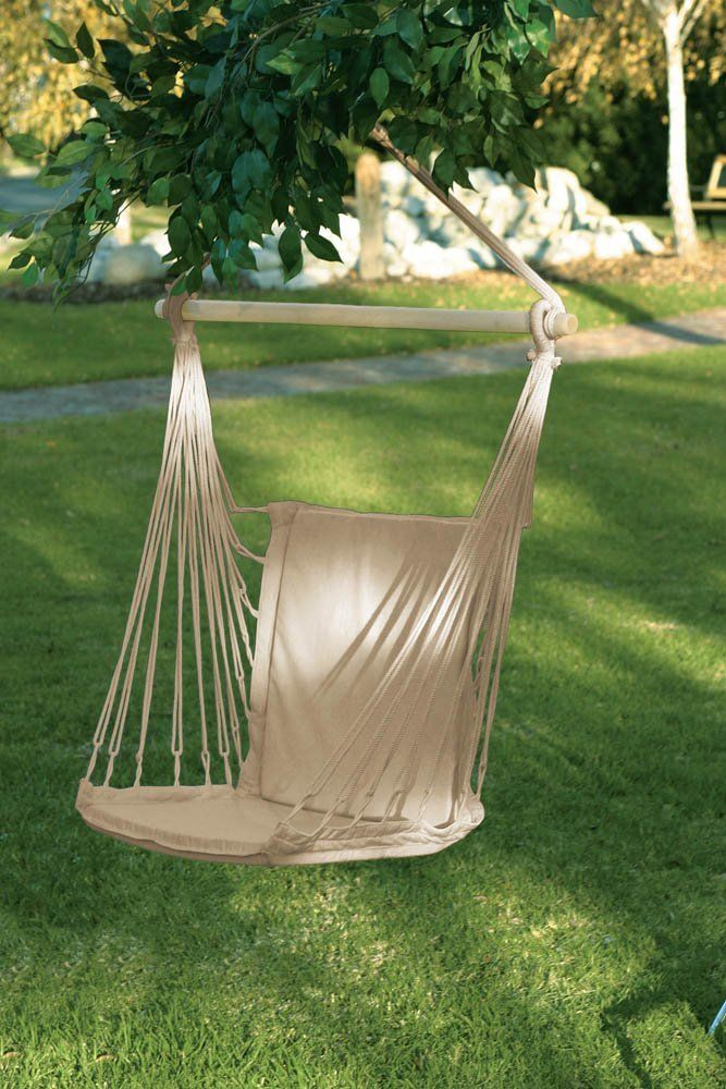 Cotton Padded Swing Hammock Chair Home