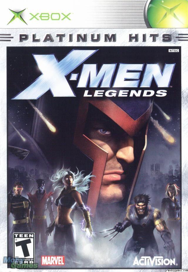 X Men Legends | Gamecube games, X men, Playstation 2