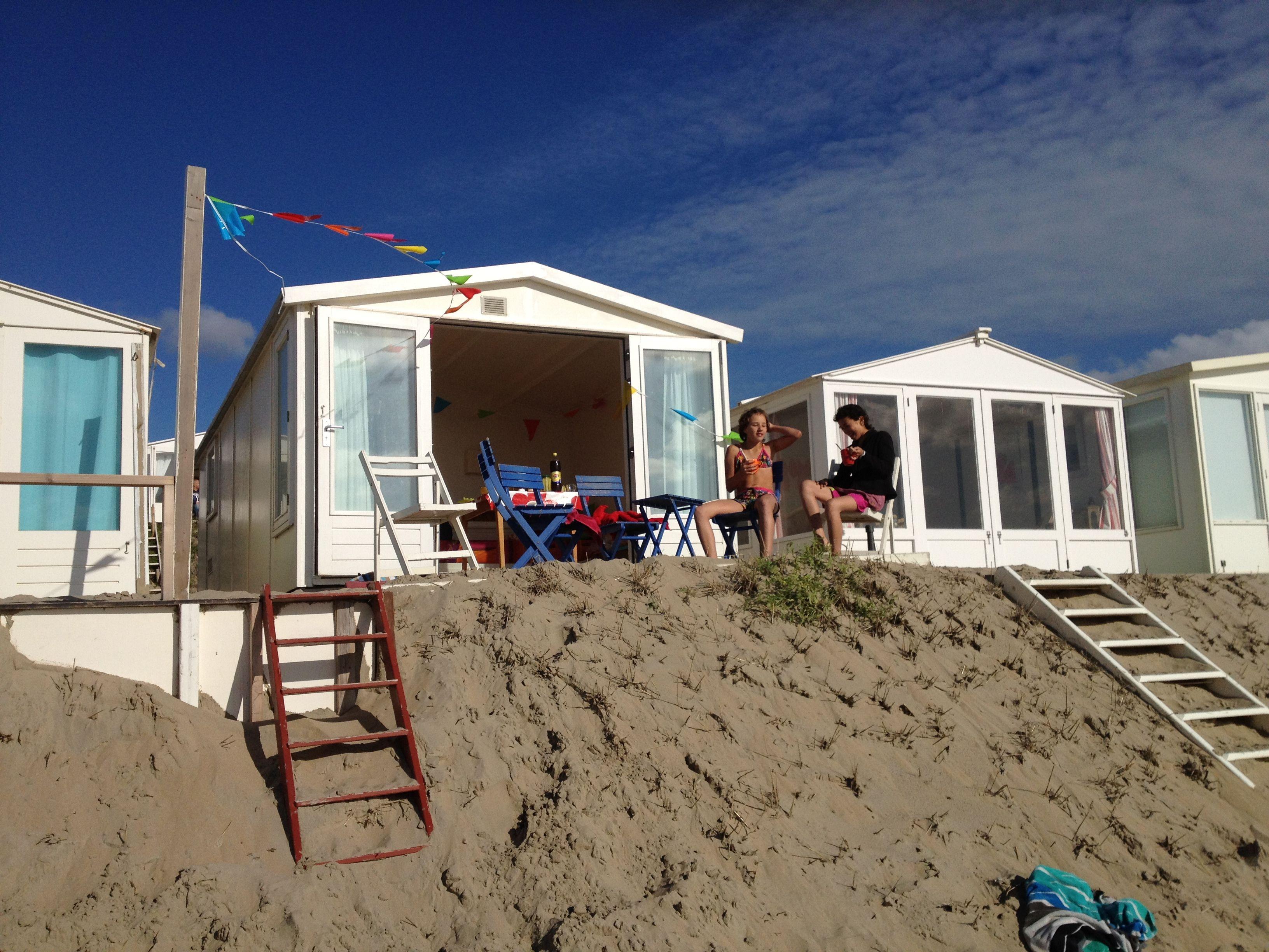 Beachcabin Bloemendaal aan zee The Netherlands