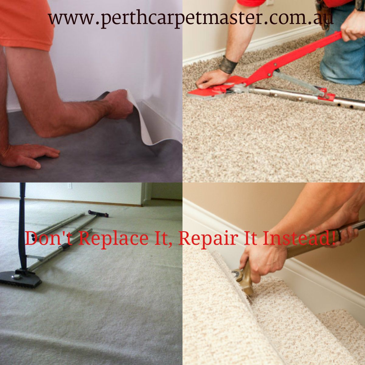 When A Carpet Is Installed Generally It Is Stretched Out But Over A Time The Carpet Can Come Loose From Moving He Carpet Repair Diy Carpet Carpet Installation