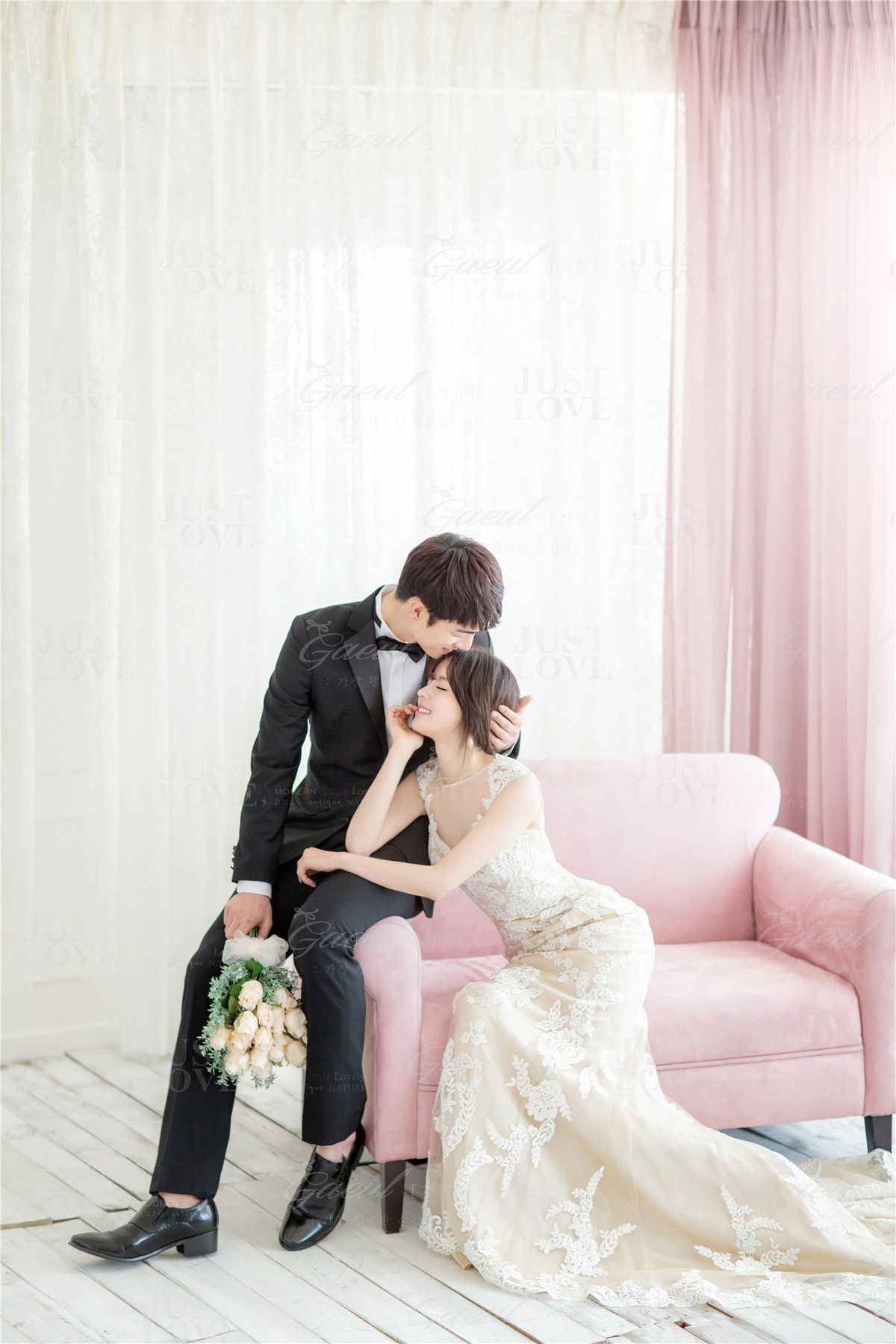 f54b8b357ba Korean Studio Pre-Wedding Photography  Chic   Fun by Gaeul Studio on  OneThreeOneFour 6