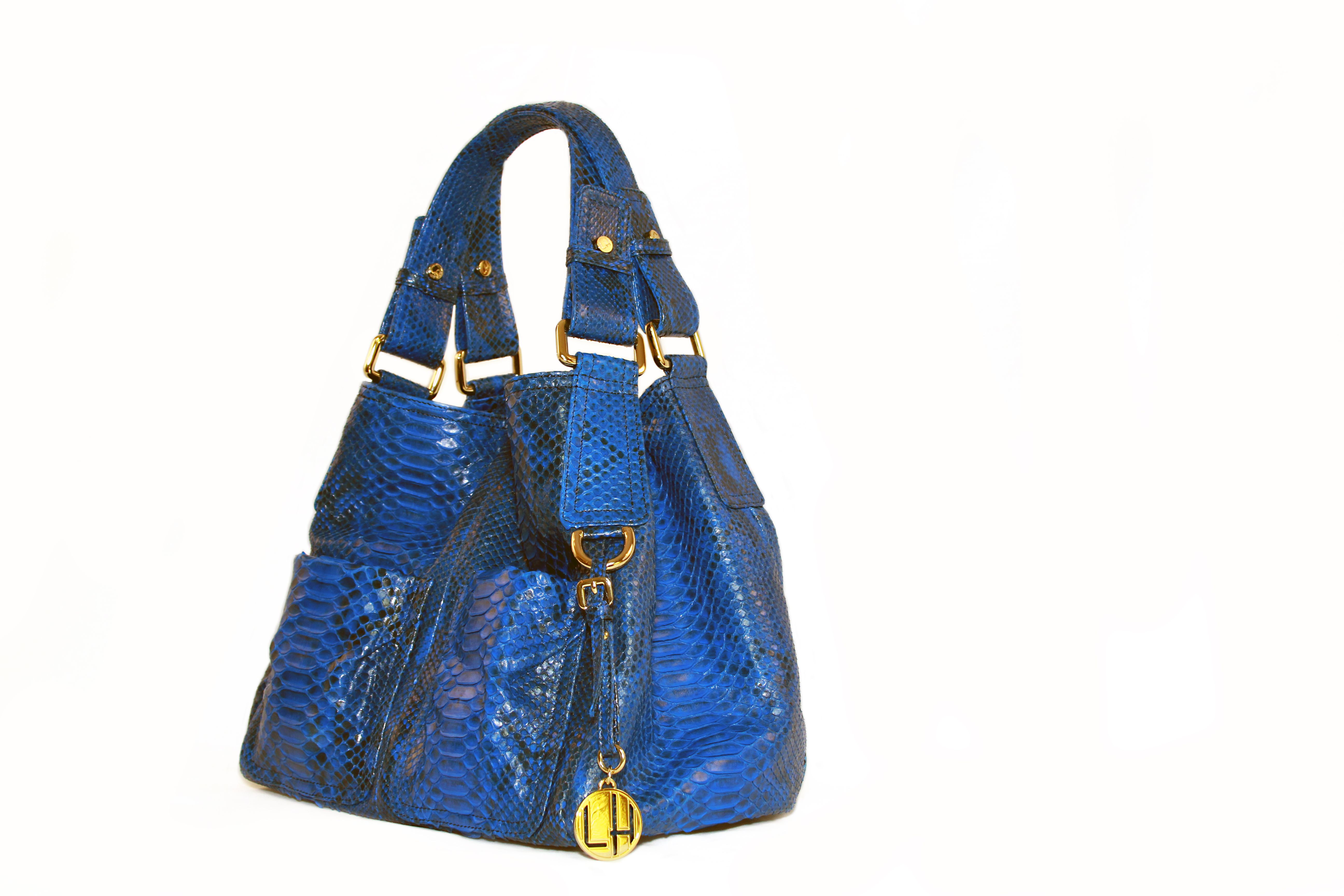 This Diane is Electrifying in Blue! Can't get enough of the Loren Hatch Collection at www.LorenHatch.com