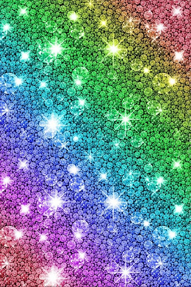 Awesome Multi Colored Diamonds For Ur Background For Iphone Or