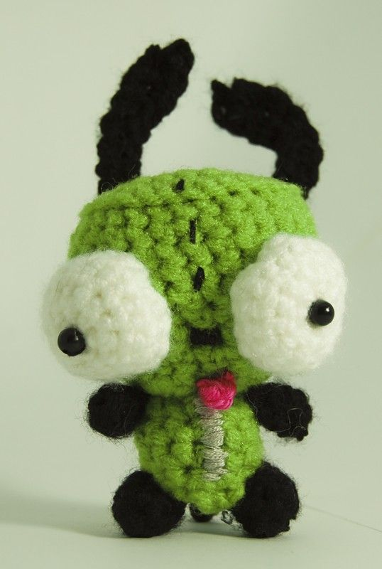 Gir From Invader Zim Doggie Suit Invader Zim Amigurumi And Crochet
