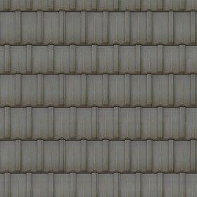 Seamless roof tiles texture in Blender