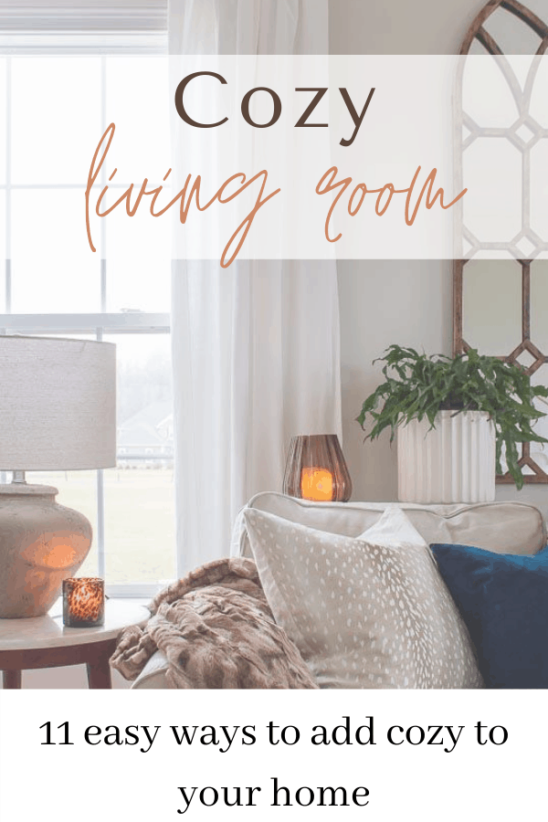 Living room decor ideas on a budget. Affordable and creative ways to decorate your living room to make it feel cozy and inviting #cozylivingroom #livingroomdecor #familyroom