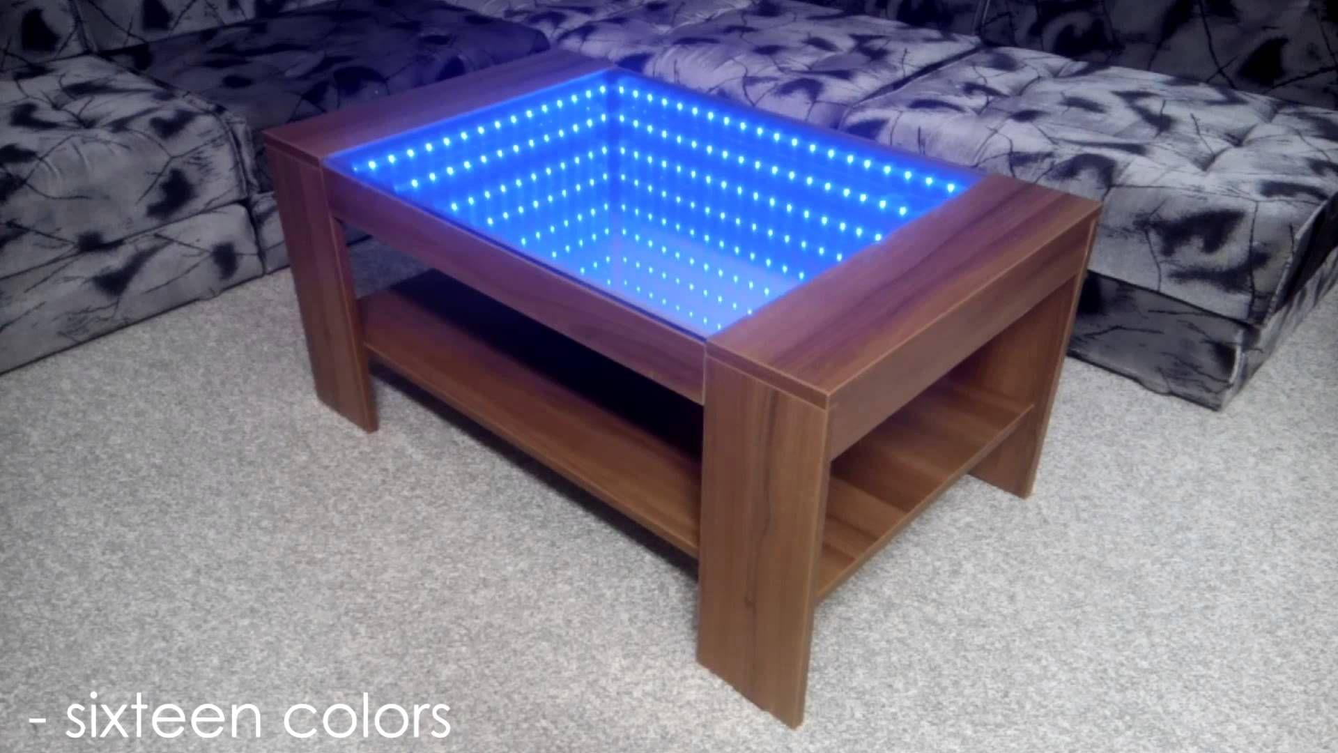 Infinity Mirror Coffee Table Self Made Https Www Djpeter Co Za