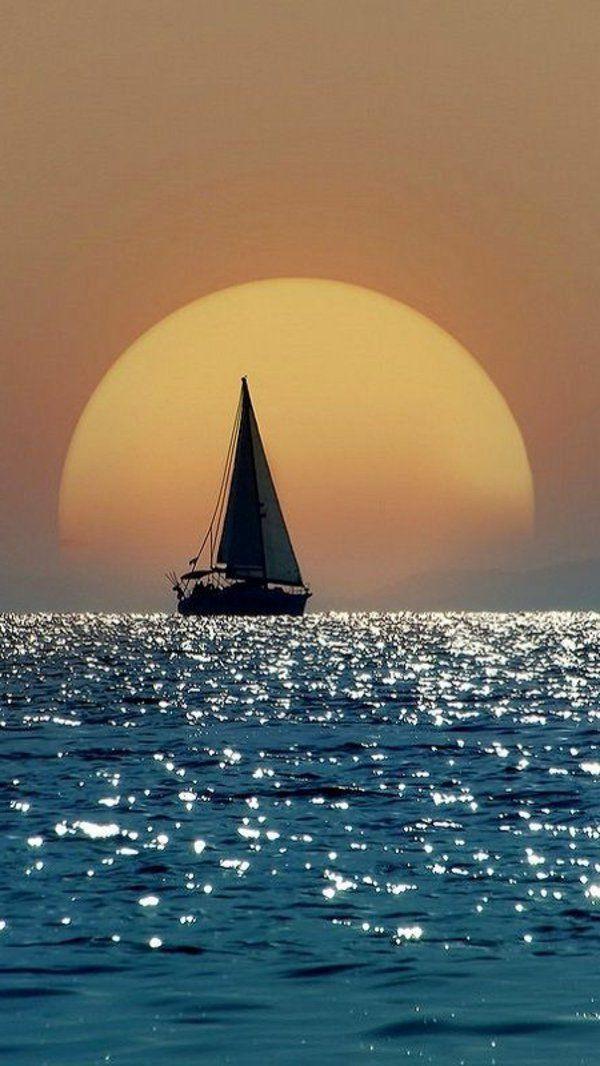 Couche De Soleil Sur La Mer Les Destinations Les Plus Belles Du