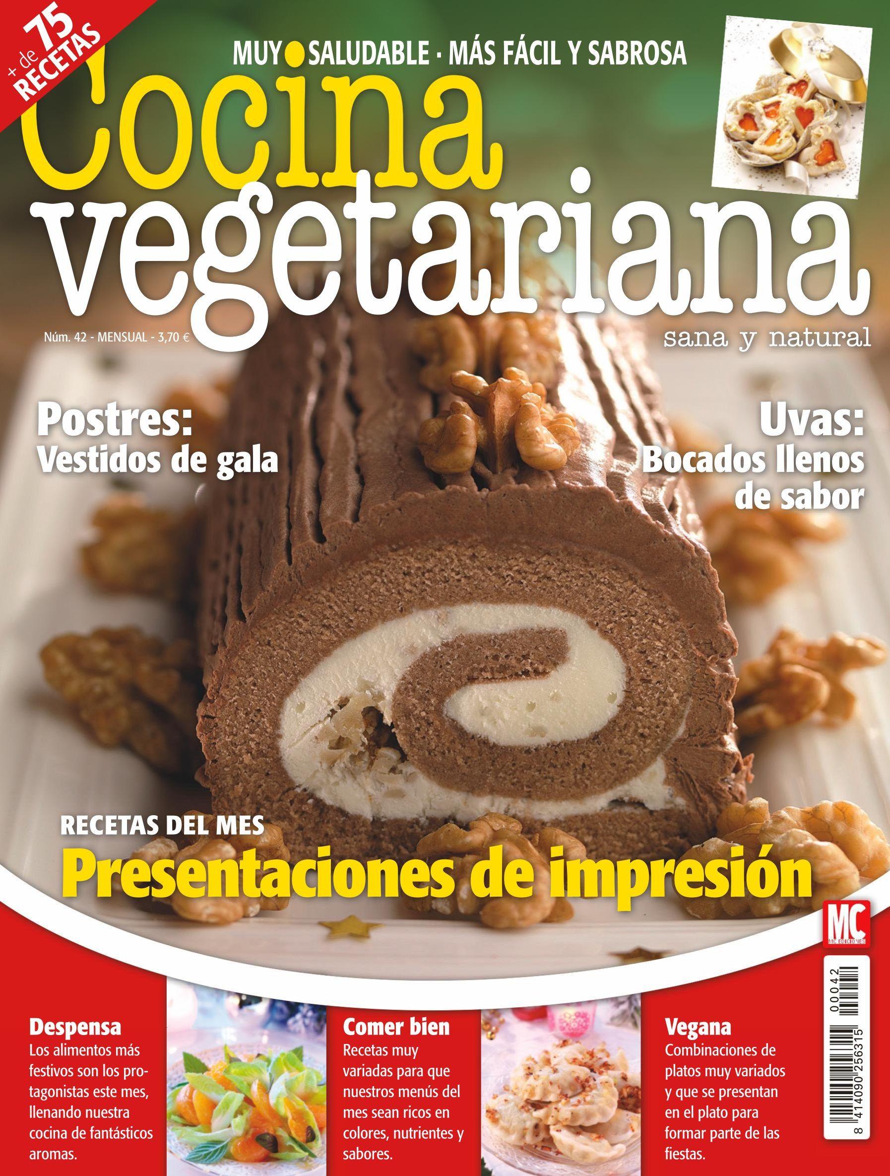 Cocina Vegetariana Revista | Revista Cocina Vegetariana 42 Recetas De Cocina Sana Y Natural
