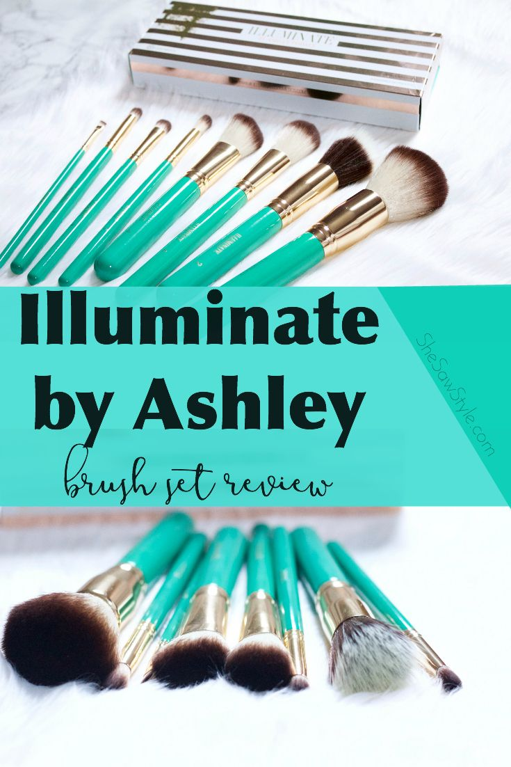 babee24d290e Illuminate By Ashley Brush Set Review Influenceher Collective. Ashley  Tisdale Illuminate Brushes X Bh Cosmetics Review Tutorial Viktoriya Cole