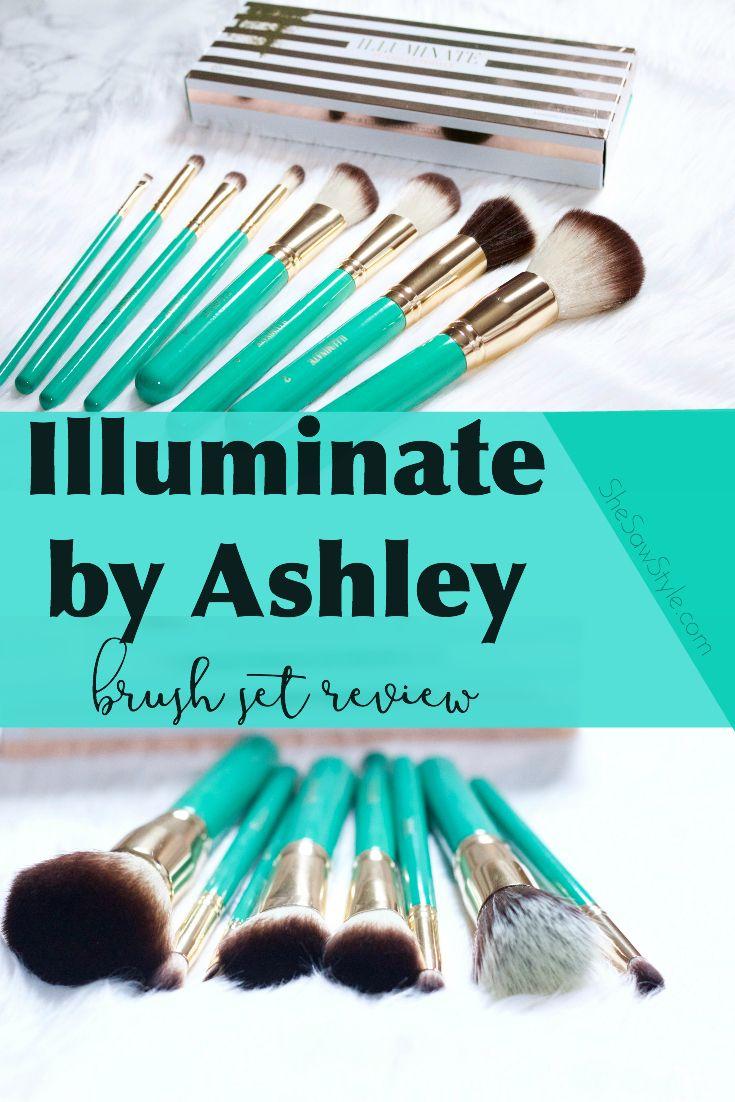 Illuminate by Ashley Brush Set Review It cosmetics