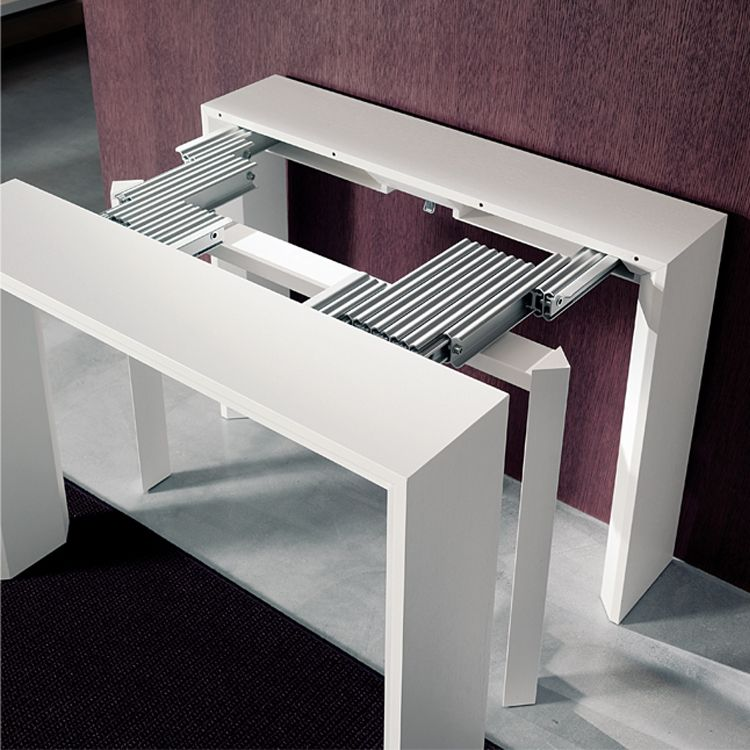 Charmant This Hall Table Transforms Into A Long Dining Table! Goliath | Resource  Furniture | Space Saving Tables