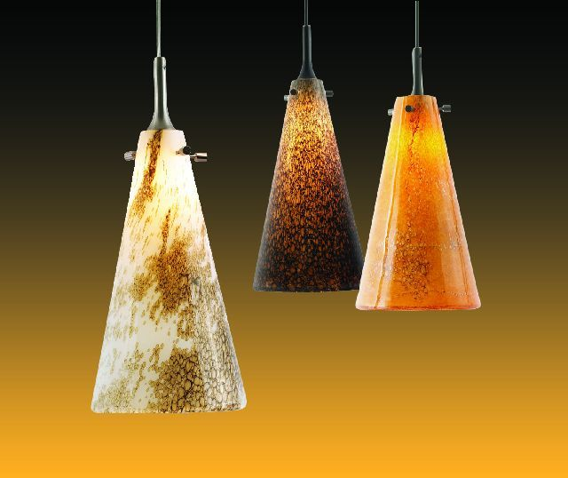 Nora lighting art glass pendants now feature 10 w led lamps with nora lighting art glass pendants now feature 10 w led lamps with dimmable driver ledinside aloadofball Image collections