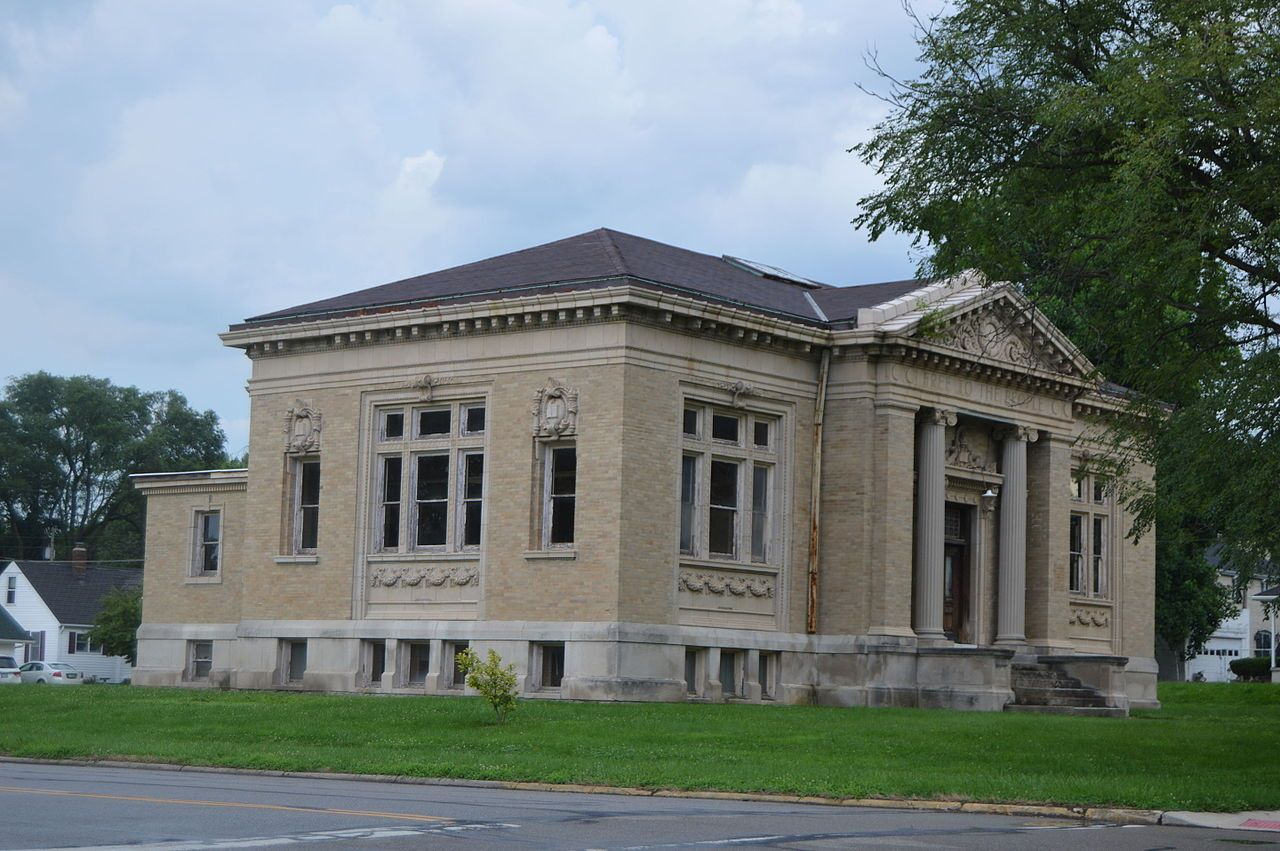 Xenia Carnegie Library in Greene County, Ohio    Places