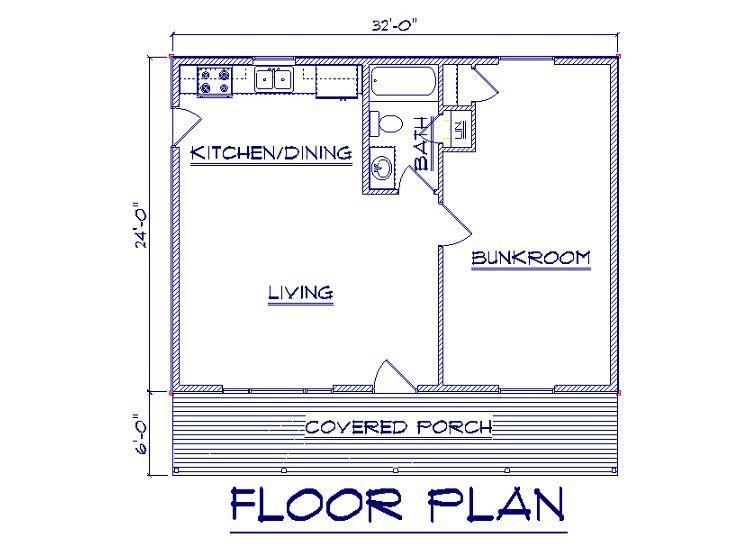 One Room Cabin Floor Plans Bernard Building Center