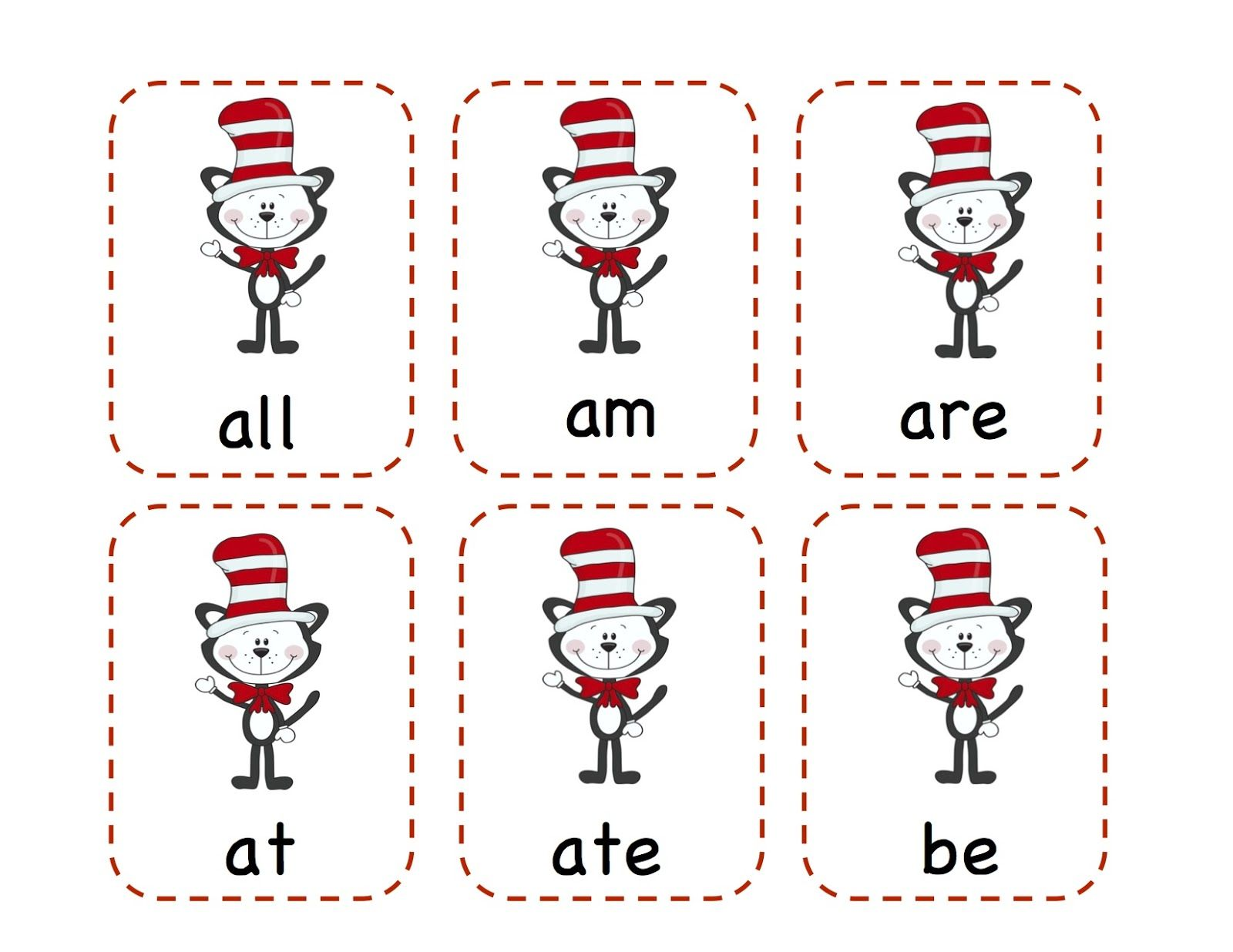 Preschool Printables Dr Seuss Tons Of Cute Things Site
