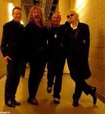 Led Zeppelin and Jason Bonham *_*