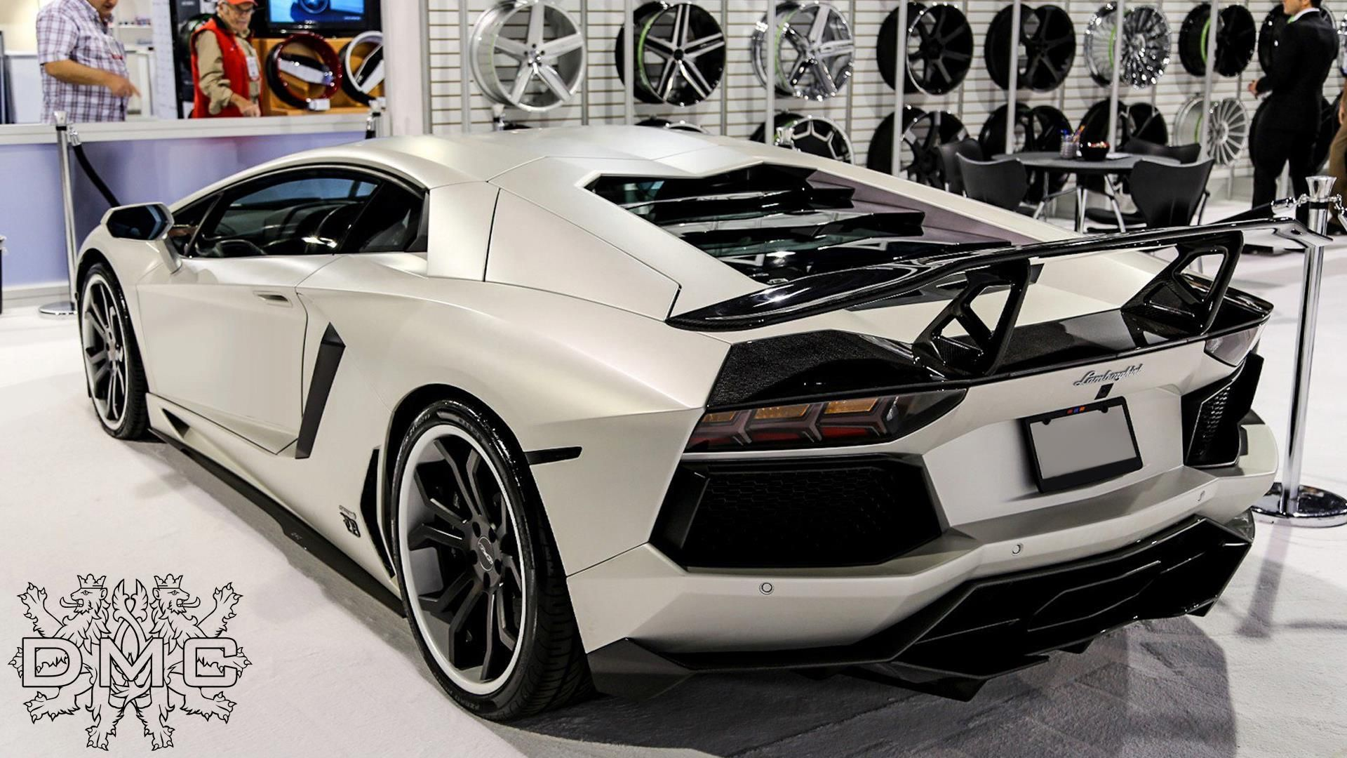 White DMC Aventador back | Lamborghini aventador ...